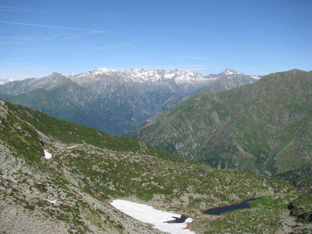 Panorama verso Gran Paradiso