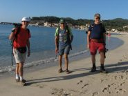 Los tres a Marina di Campo