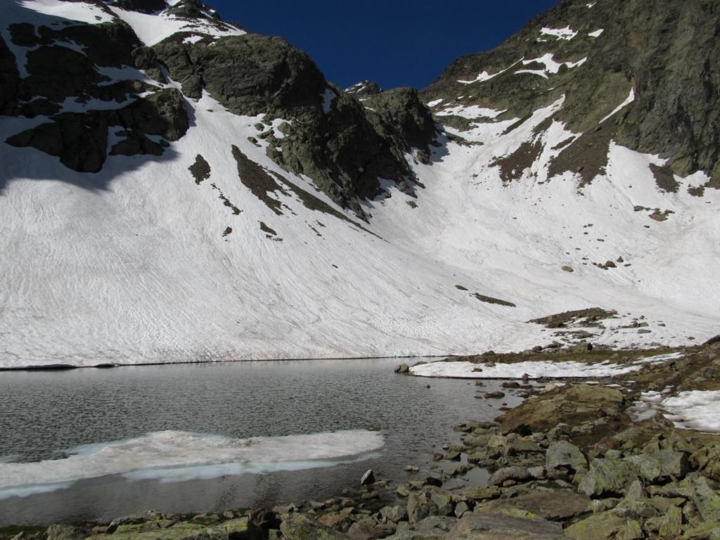 Lago di mezzo, inizia la neve