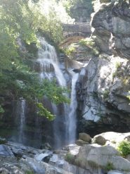 la cascata finale del Bouro