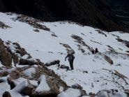 neve fresca al bivacco