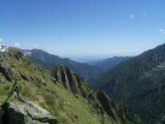 Monte del Diavolo e panorama verso Torino