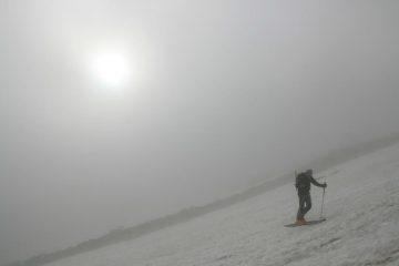 nebbia e sole
