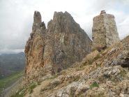 La Rocca dal colletto della Meja.