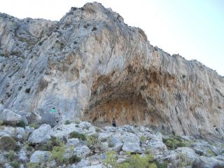 la grande grotta al mattino