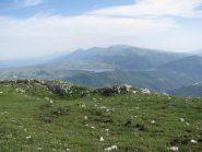 Panorama su Campotosto e Monti della Laga