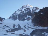 Gran Zebrù dall'inizio del ghiacciaio