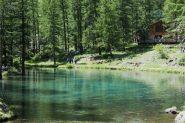 Il piccolo ma bellissimo lago di Pellaud