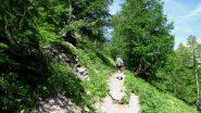 salendo verso il Refuge du Pelvoux (24-6-2011)