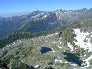 versante francese con i laghi di Peirafica