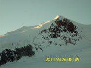 Bishorn alle prime luci del sole
