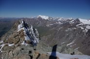 il Bianco dalla vetta del Mont Gelé