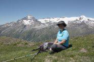 Anna e i ghiacciai della vanoise