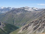 dalla cima il vallone di rochemolles