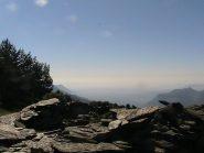 Paesaggio dall'Alpe Formica