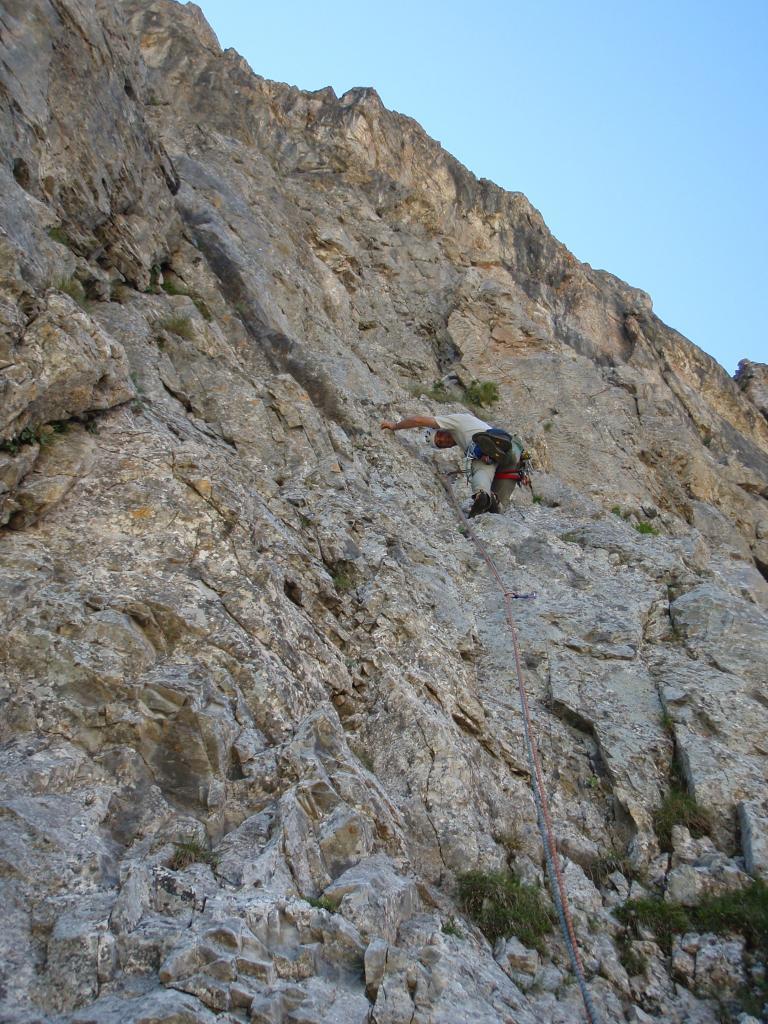 Parvo (Rocca) Torre Nord Ovest Alpinisti per caso 2011-06-26