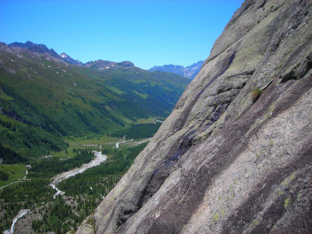 la Val Ferret e le placche del Pré de Bard