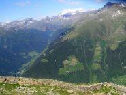 Le trincee e la valle di Sacco