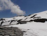 14 - ultimi metri per la cima (Il traverso non è ripido)