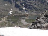 20 - dalla zona del colletto bel panorama sul Lac de Savine e Col Clapier