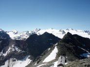 Cima Sud e ghiaccaio del Rutor