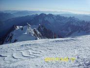 In  cima, con tutte le Alpi al di sotto