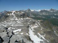 Verso Pizzo Diei e montagne svizzere