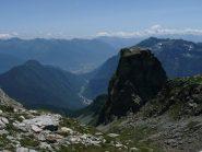 Verso la valle del Sempione e rilievi secondari