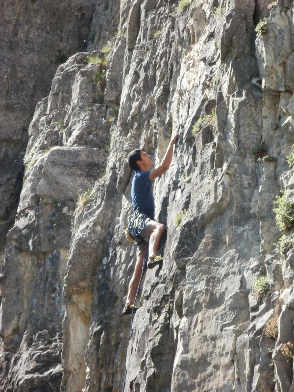 arrampicando