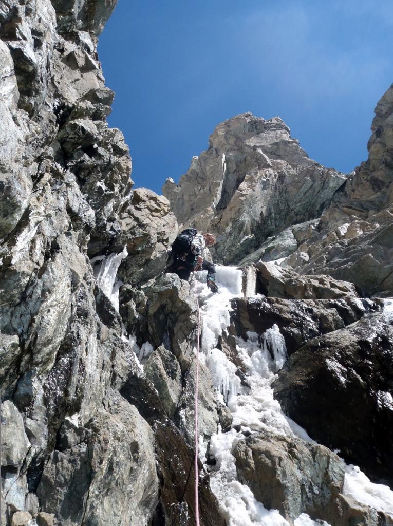 Disgrazia (Monte) Direttissima parete S 2011-07-04