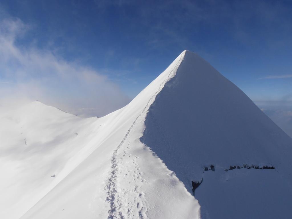 12 - e la cresta del Castore appena discesa