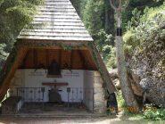 La cappella per i caduti in montagna