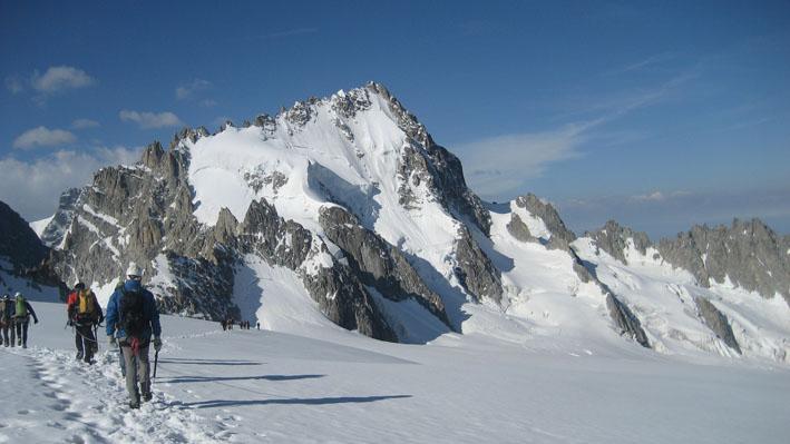 Petit Fourche traversata dalla Tete Blanche 2011-07-10