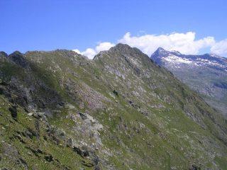 Al centro il Monte Cavaglia