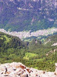 Tornadri vista dalla cima del Monte Cavaglia