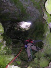 Il tiro della grotta col guano