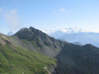 Panorama su Cervino e Monte Rosa