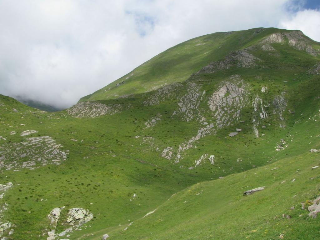 Cima del Rospo versante sud