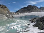 Seraccata sul lago ghiacciato