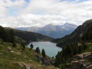 03 - lago Plan d'Amont e Pierre Menue sullo sfondo