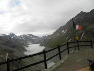 La valle dal rifugio Aosta