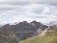 Le due cime del M.Orsiera dalla vetta