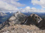 14 - Dalla cima Chaberton e Trois Scies