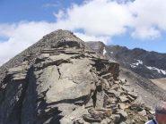 la placca di roccia da superare