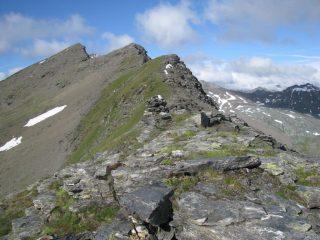 Cima Beccher e la cresta nord-est