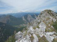 La cima centrale delle Rocce