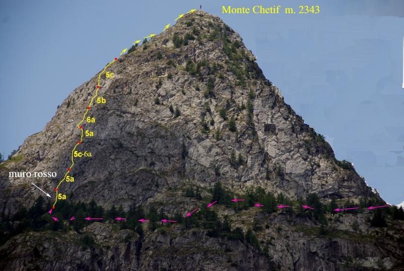 Chetif(Mont) Pierre navigatore delle creste 2011-07-26