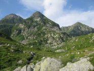Punta Marsè, Uia di Pratofiorito e Monte Bellavarda