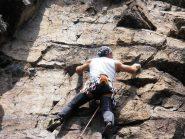 La roccia calcarea da più vicino
