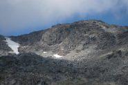 Cima di Bard a dx e ghiacciao omonimo